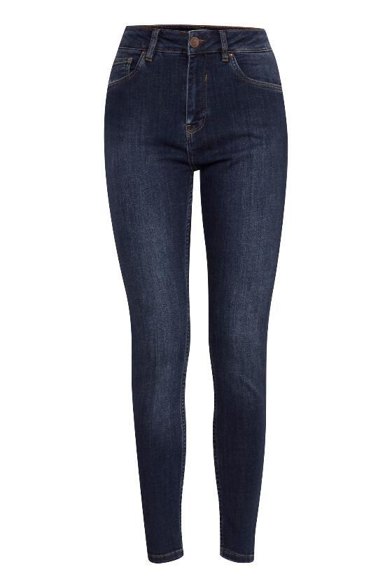 Køb 78 mellemblå jeans fra Pulz Emma pulz jeans Vivi ji.dk