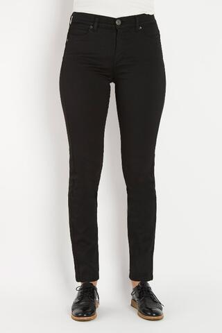 Sorte jeans model tight fra Bessie